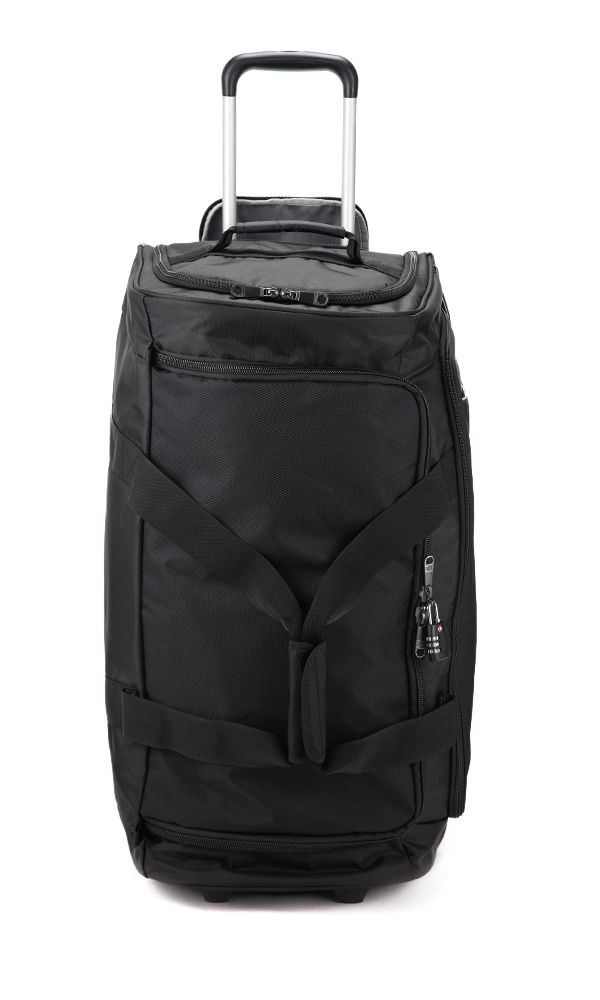 Cyberlite 2 wheel black trolley duffle