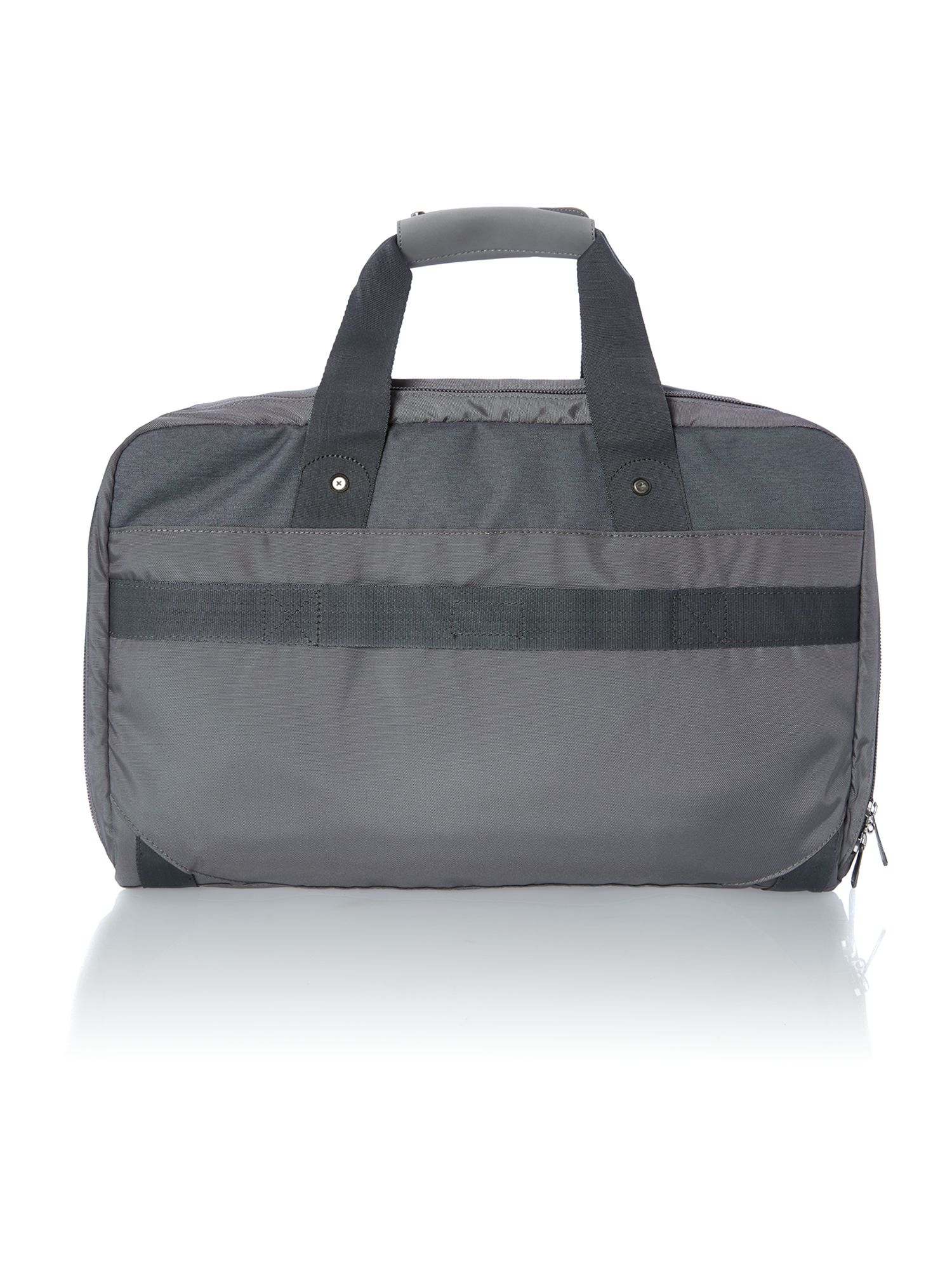 Nix grey soft overnight bag