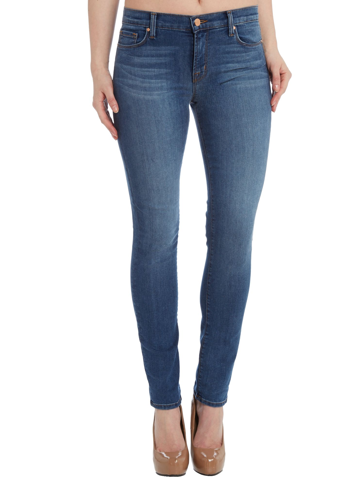 811 mid-rise skinny jeans in New Dawn