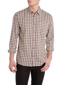 Mini check shirt