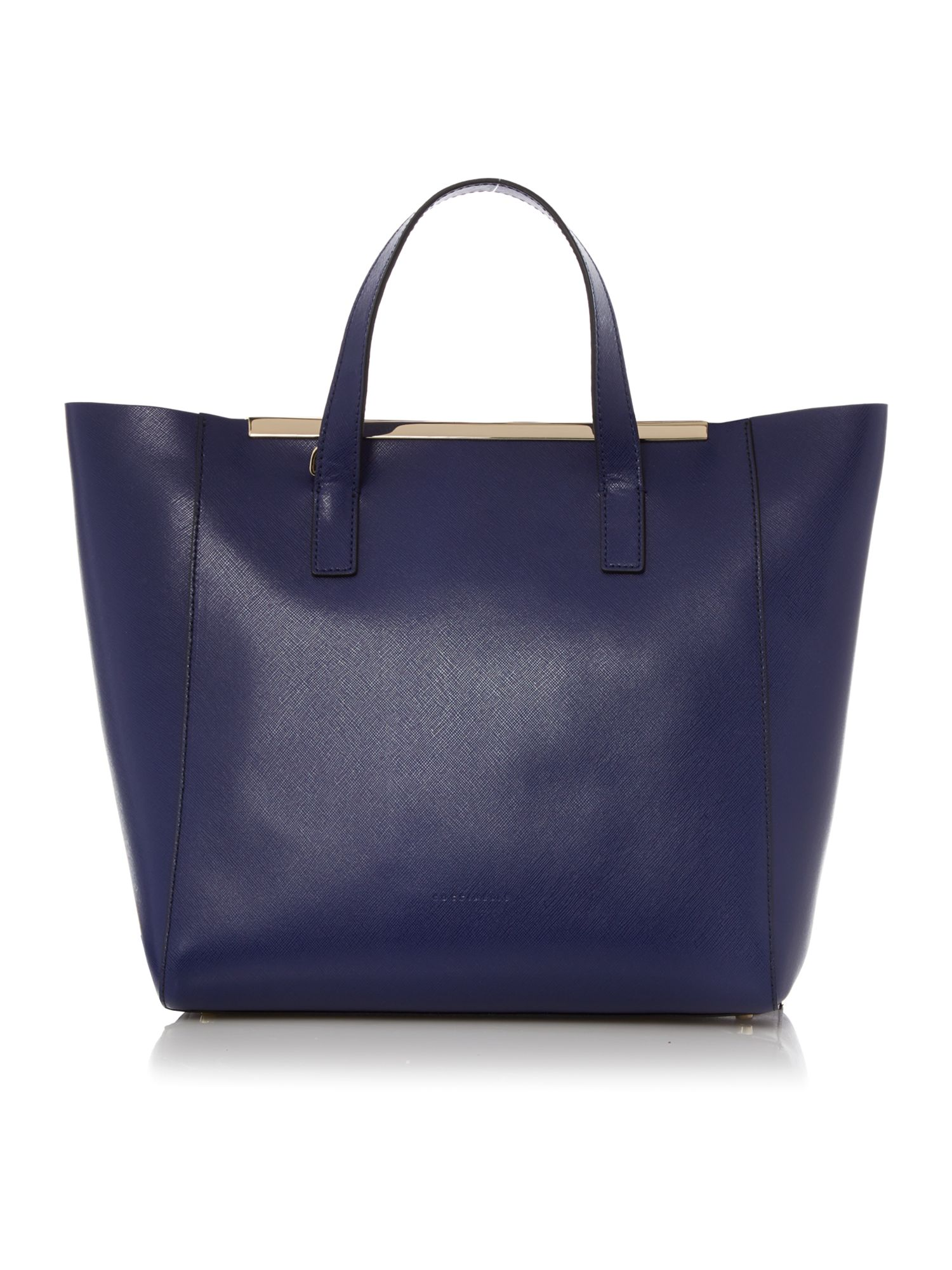 Amy blue tote bag