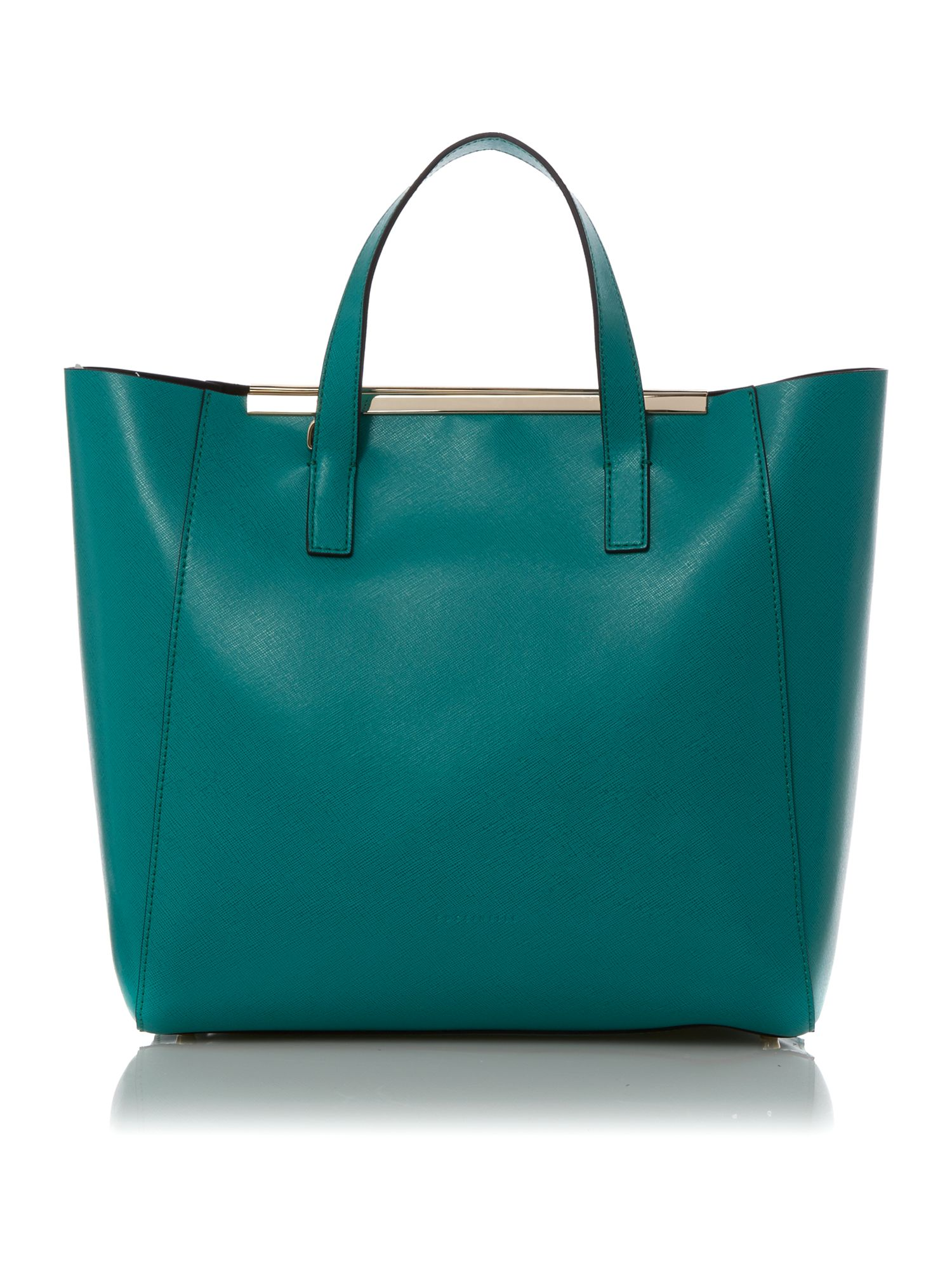 Amy green tote bag