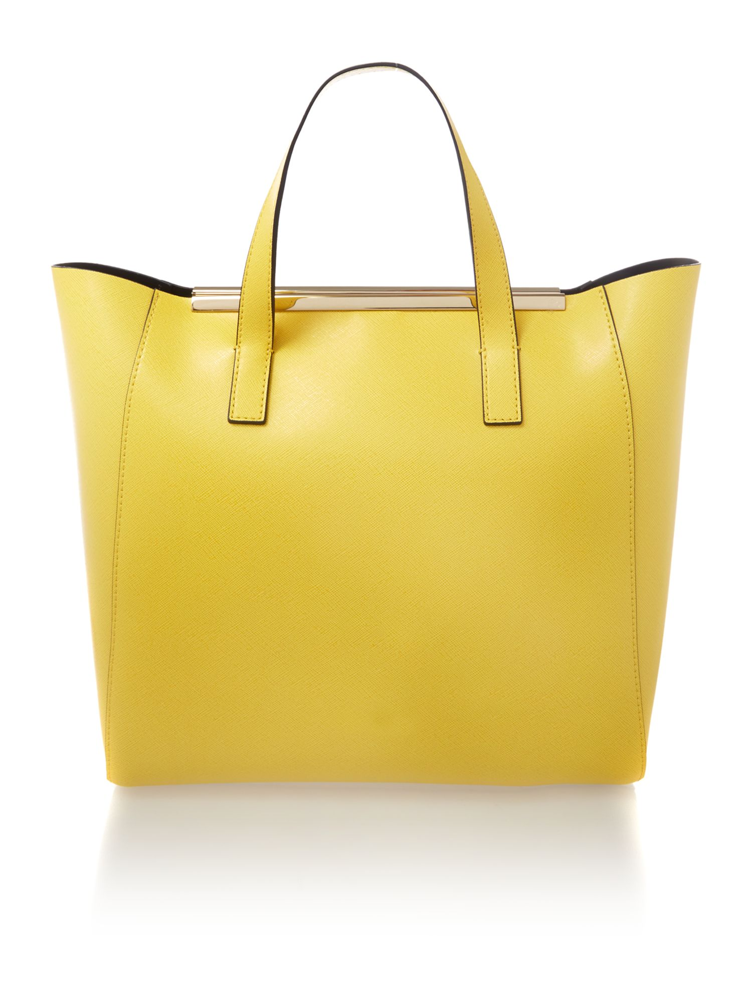 Amy yellow tote bag