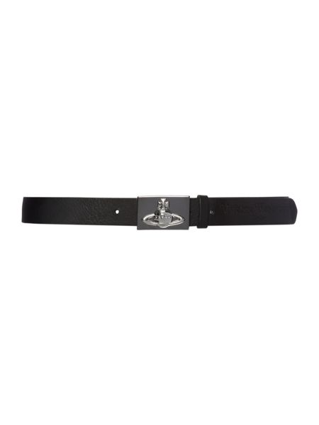 Vivienne Westwood Orb shield leather belt