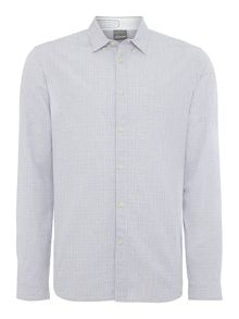 Cromford check long sleeved shirt