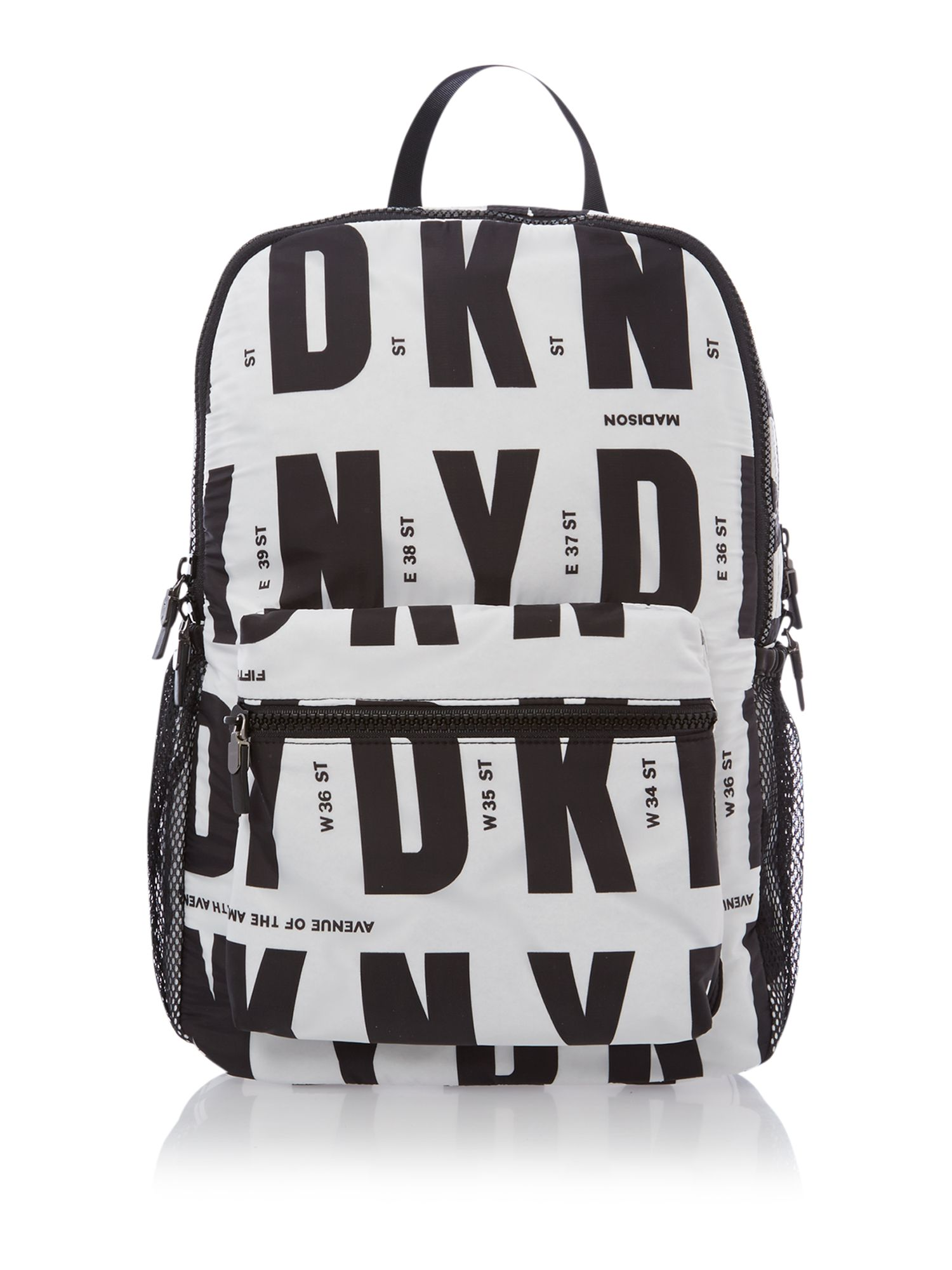 Runway multi-coloured back pack