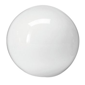 Globe diameter 10cm in white