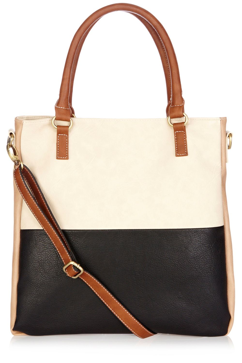 Trinny strappy colour block bag