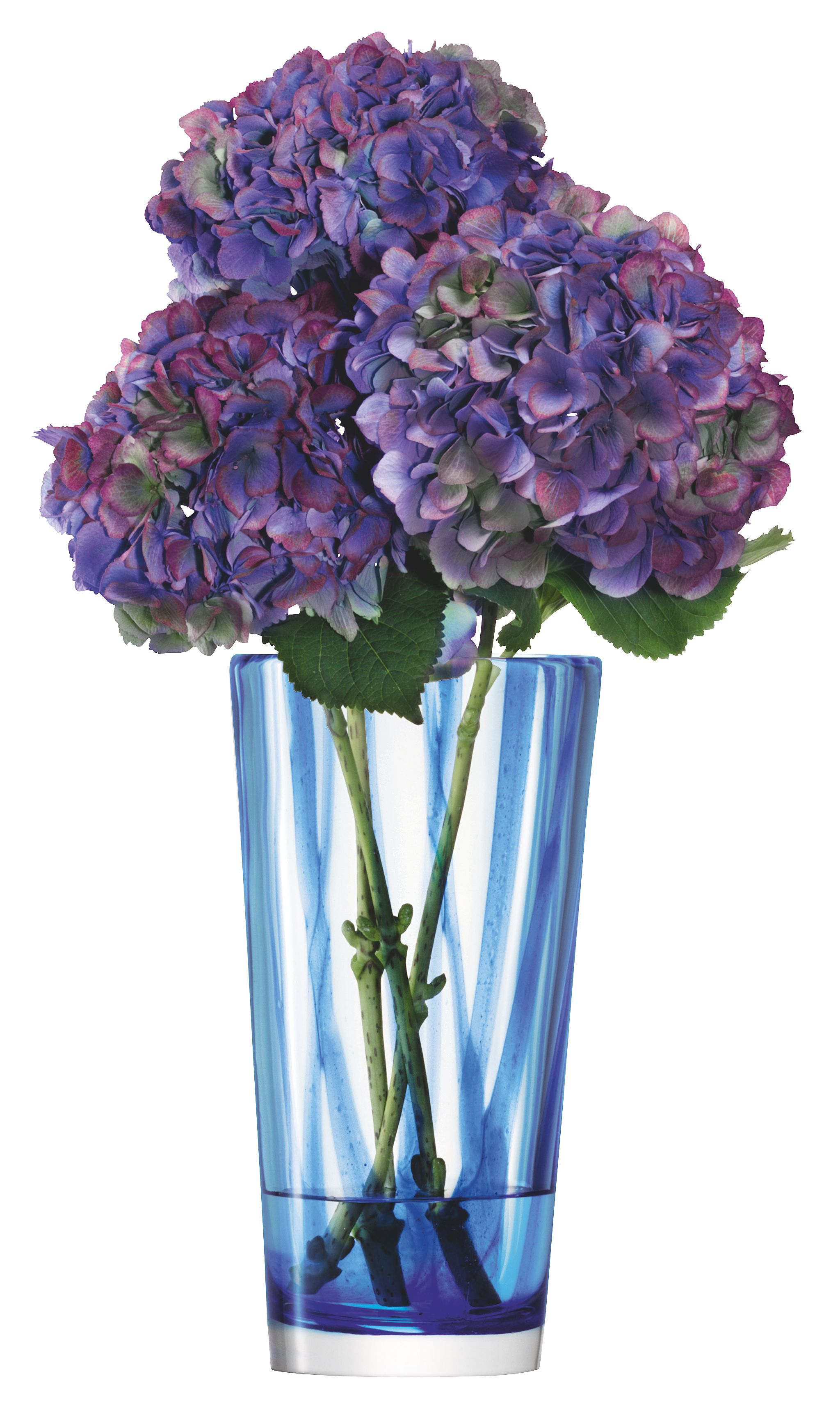 Cirro vase height 30 in cobalt