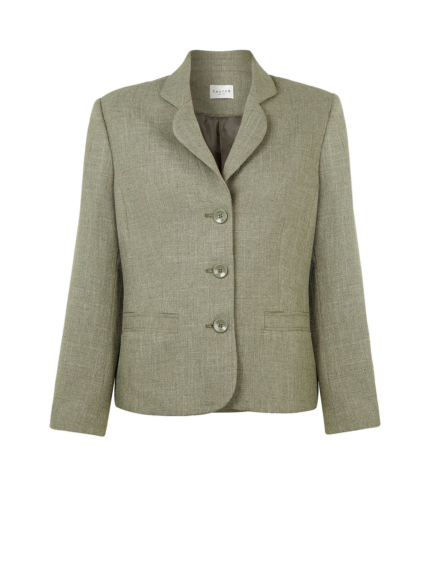 Misty green tailored jacket