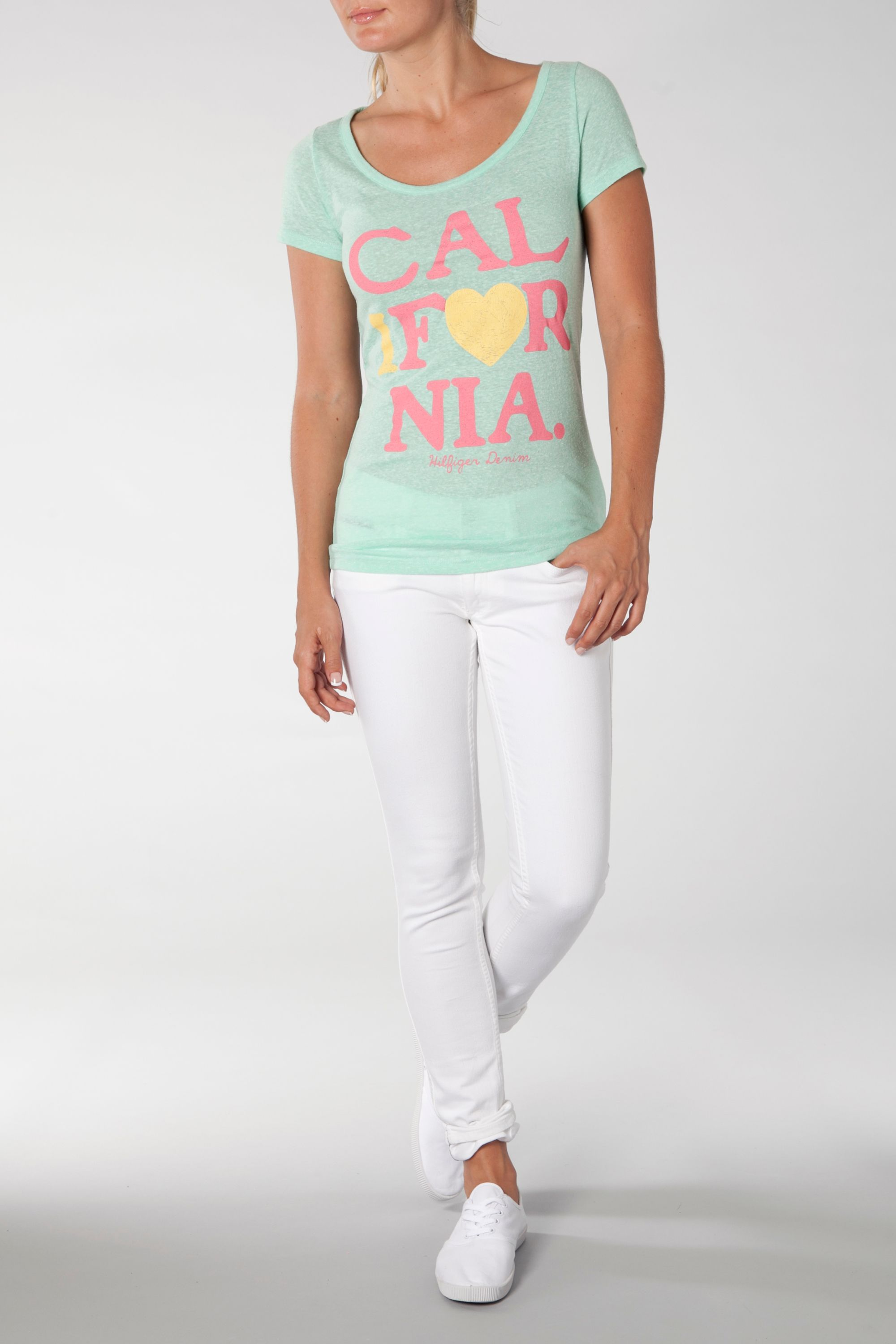 Sheena crew neck T-shirt