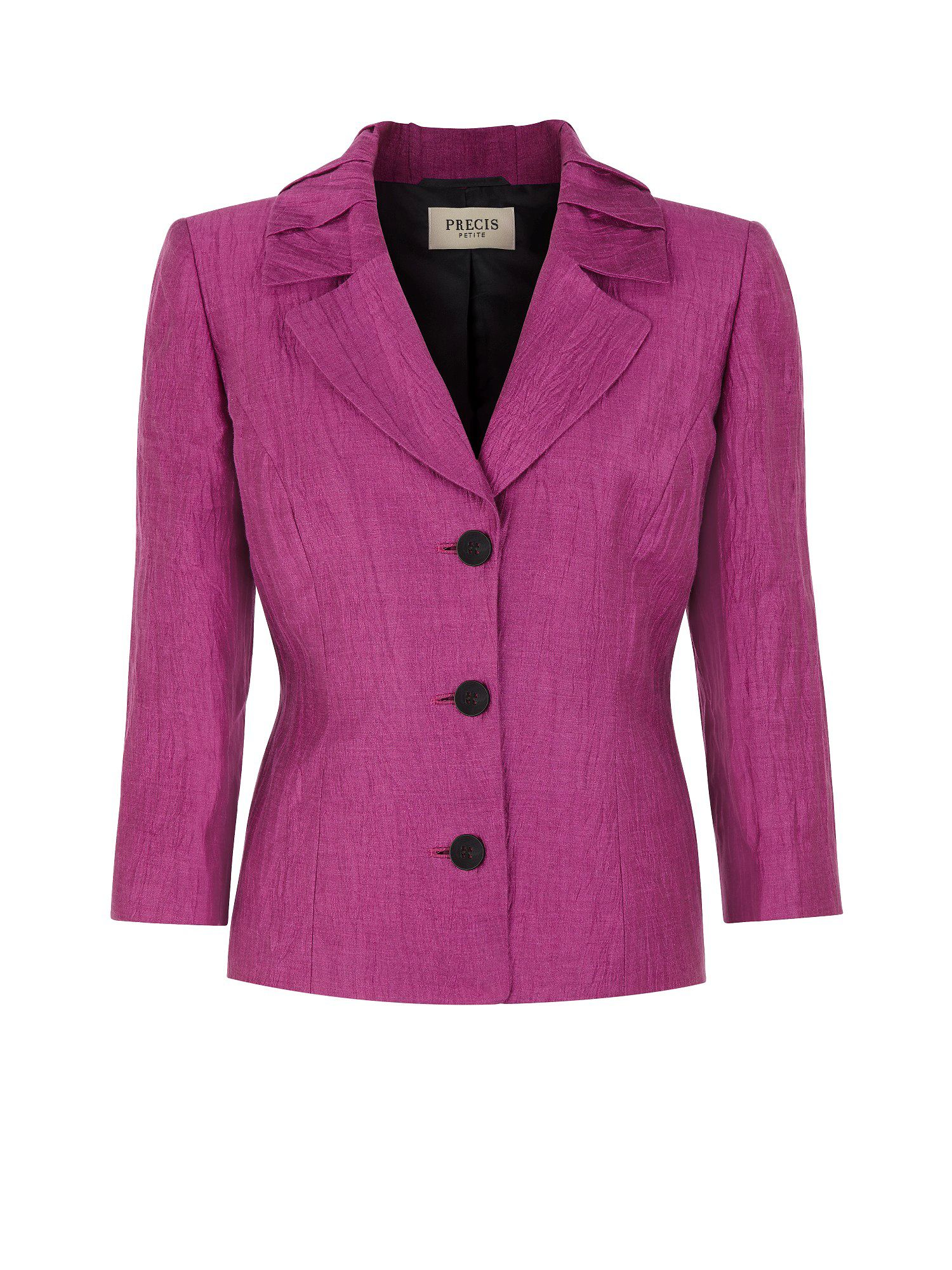 Pleat collar jacket