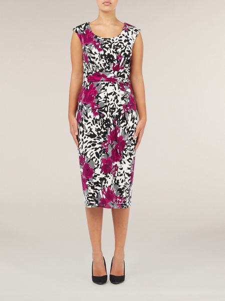 Precis Petite Abstract floral dress