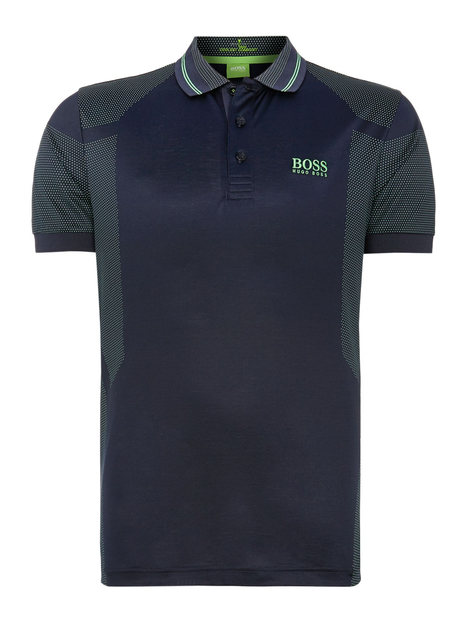 Men&39s Hugo Boss Dot golf polo Navy