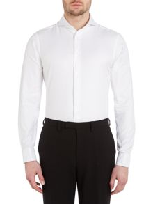 Fully fitted long sleeve shirt