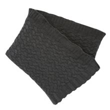 Henley throw one size grey