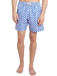 Mini check swim short