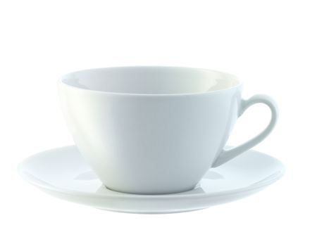 LSA Dine Cappuccino Cup & Saucer Curved, set of 4
