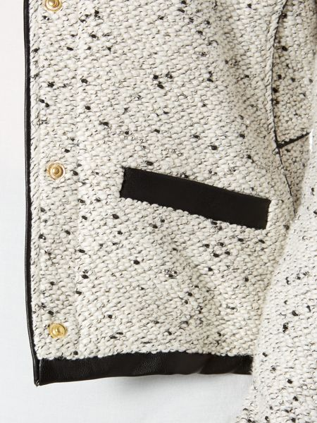 Vila Long sleeved boucle jacket