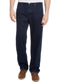 Alabama indigo wash straight leg jean