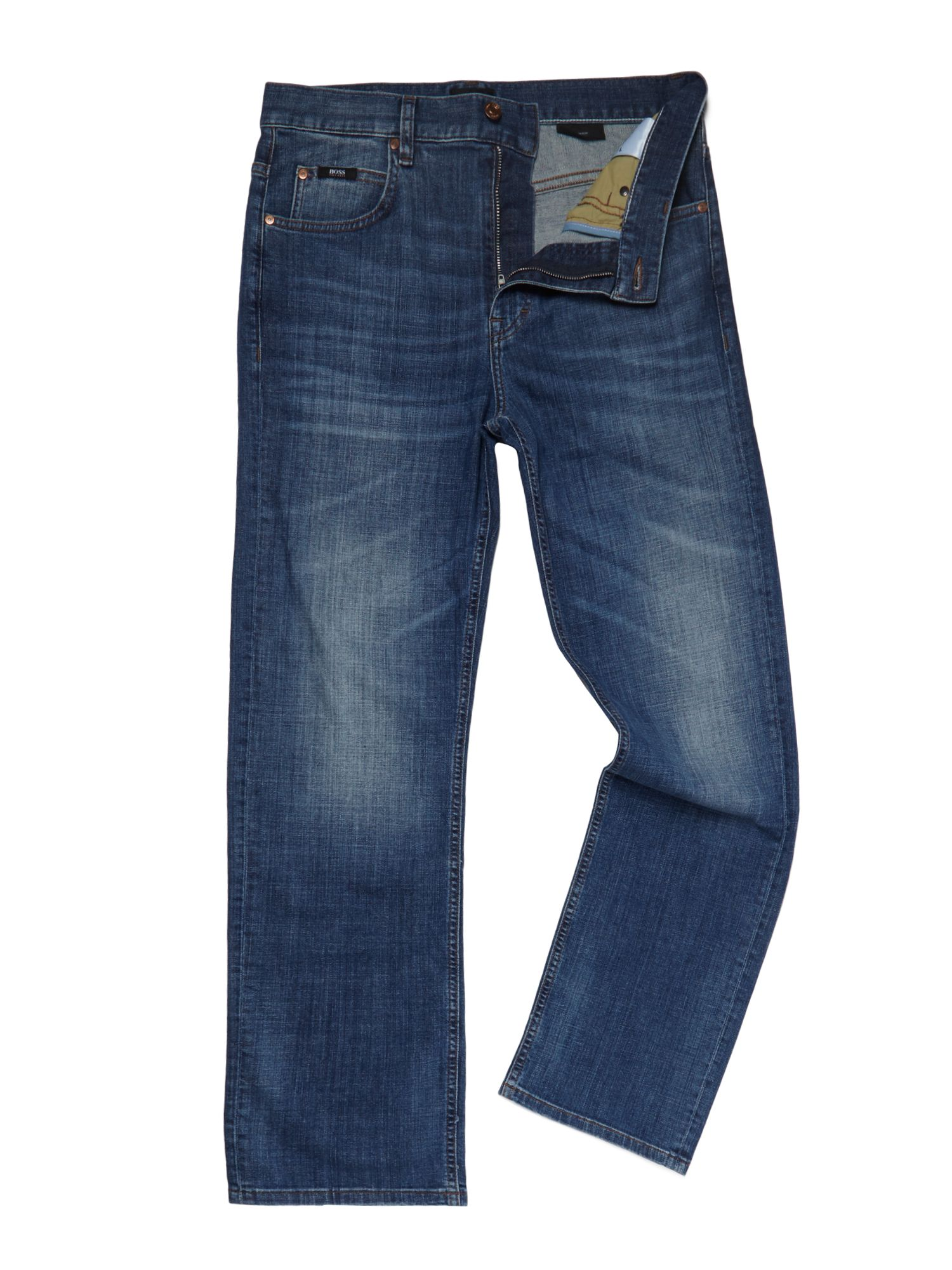Alabama light wash straight leg jean