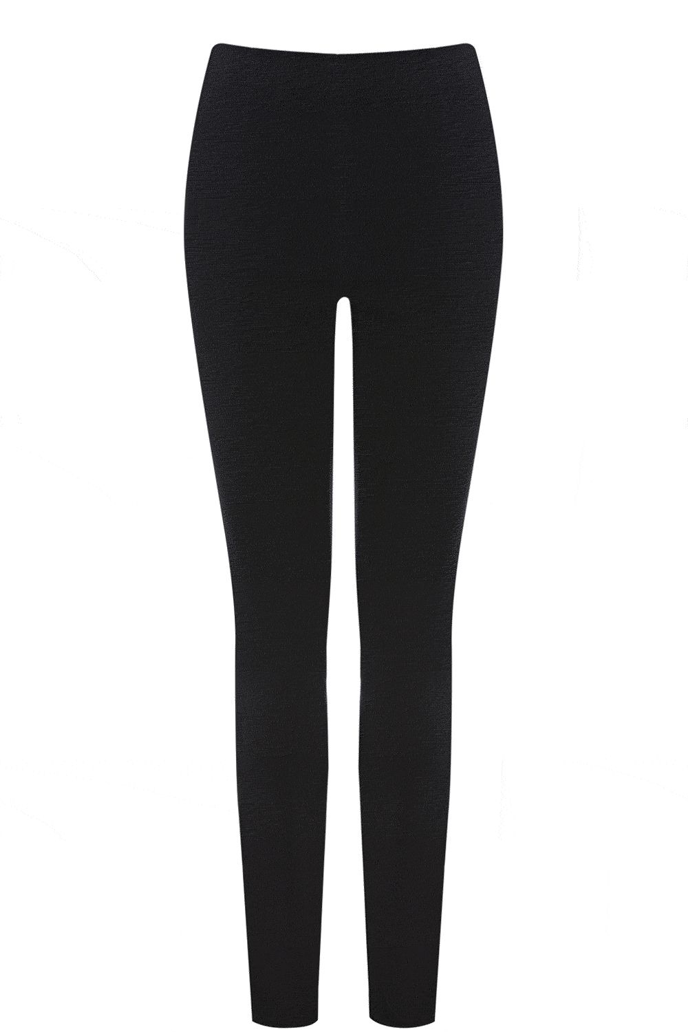 Cara black side zip jegging