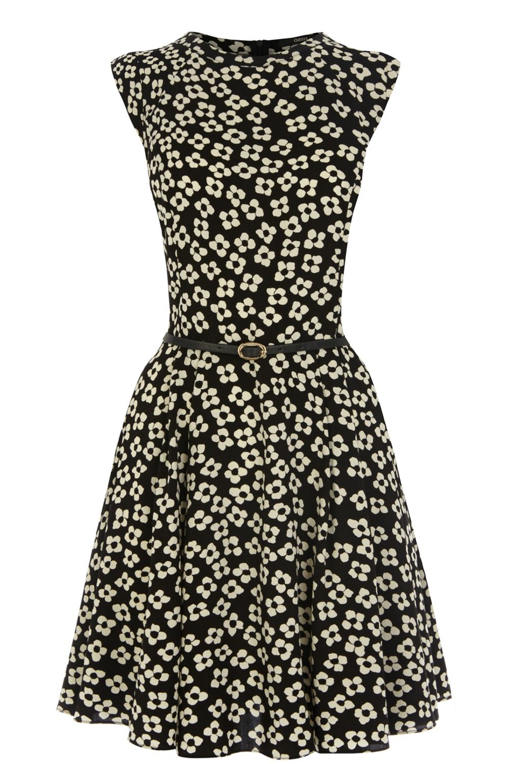 Daisy viscose skater dress