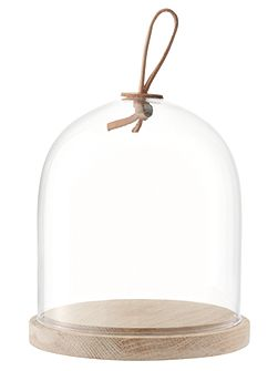 Ivalo Dome & Ash Base 15cm Clear