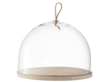 LSA Ivalo  Dome & Ash Base 32cm Clear