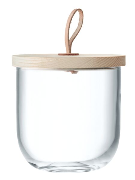 LSA Ivalo Container & Ash Lid H15.5cm Clear