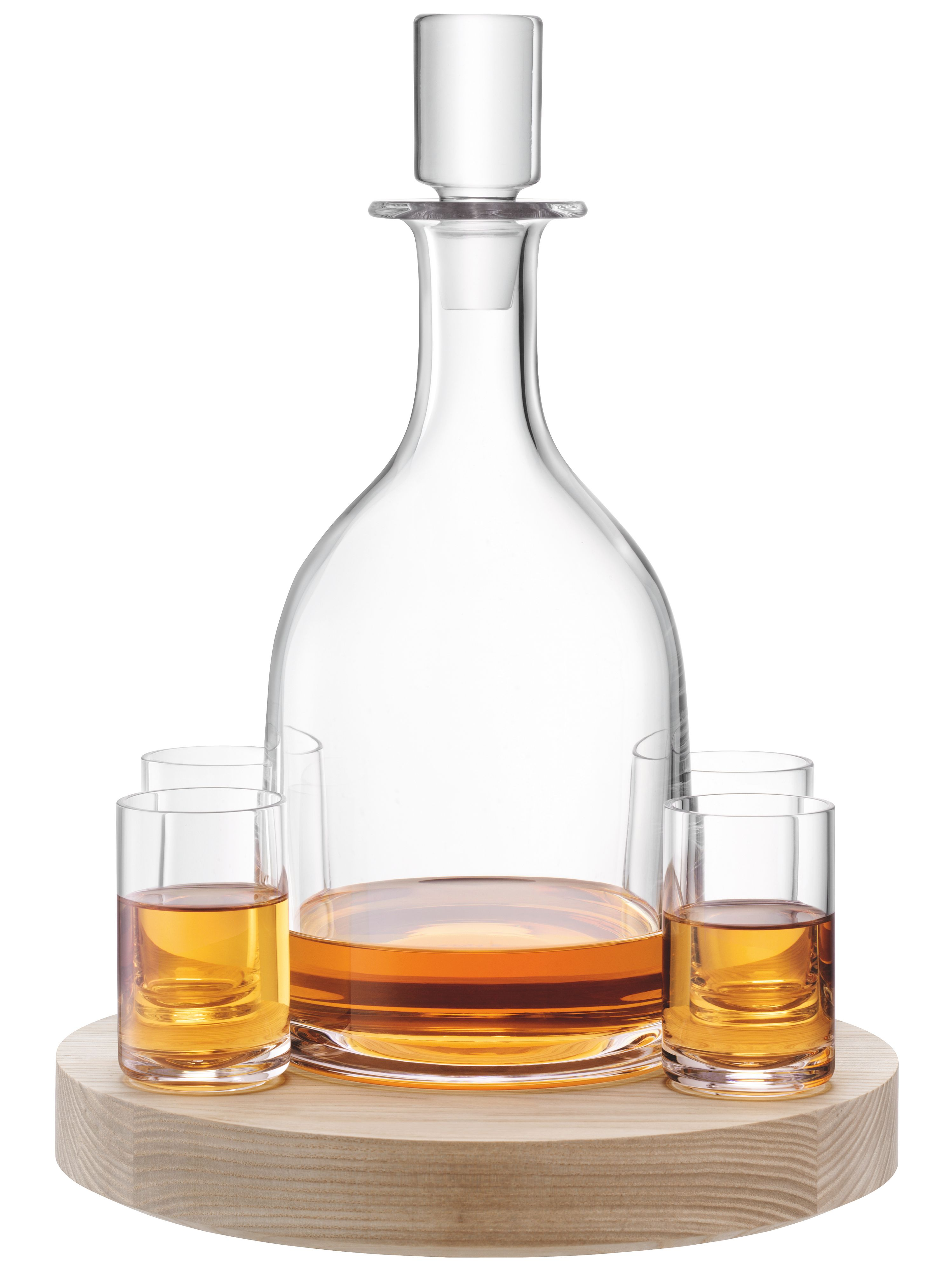 Lotta Decanter Set & Ash Base 0.95L