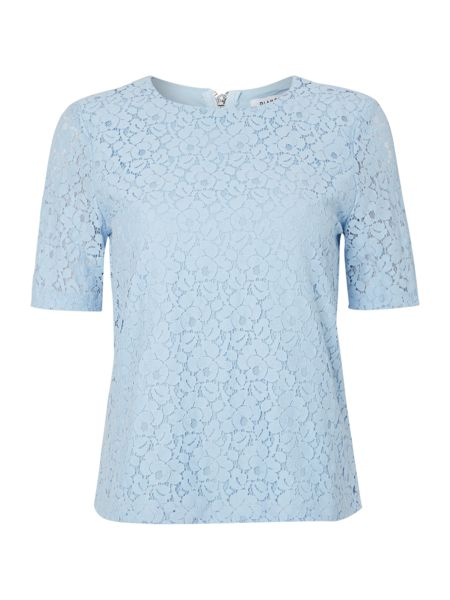 Glamorous Short sleeved lace t-shirt
