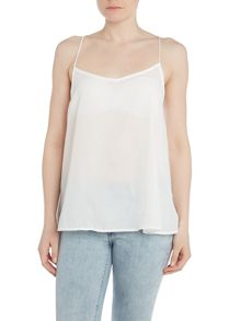 Sleeveless cami top