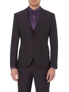 Clarendon slim fit notch rever suit jacket