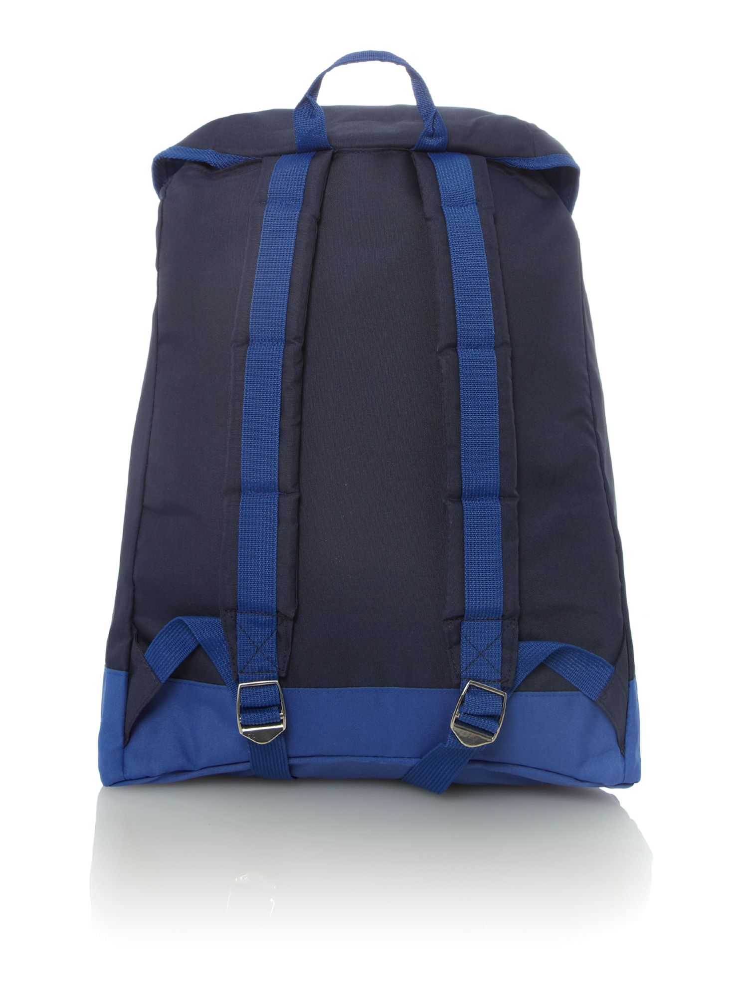 Nylon colour block rucksack