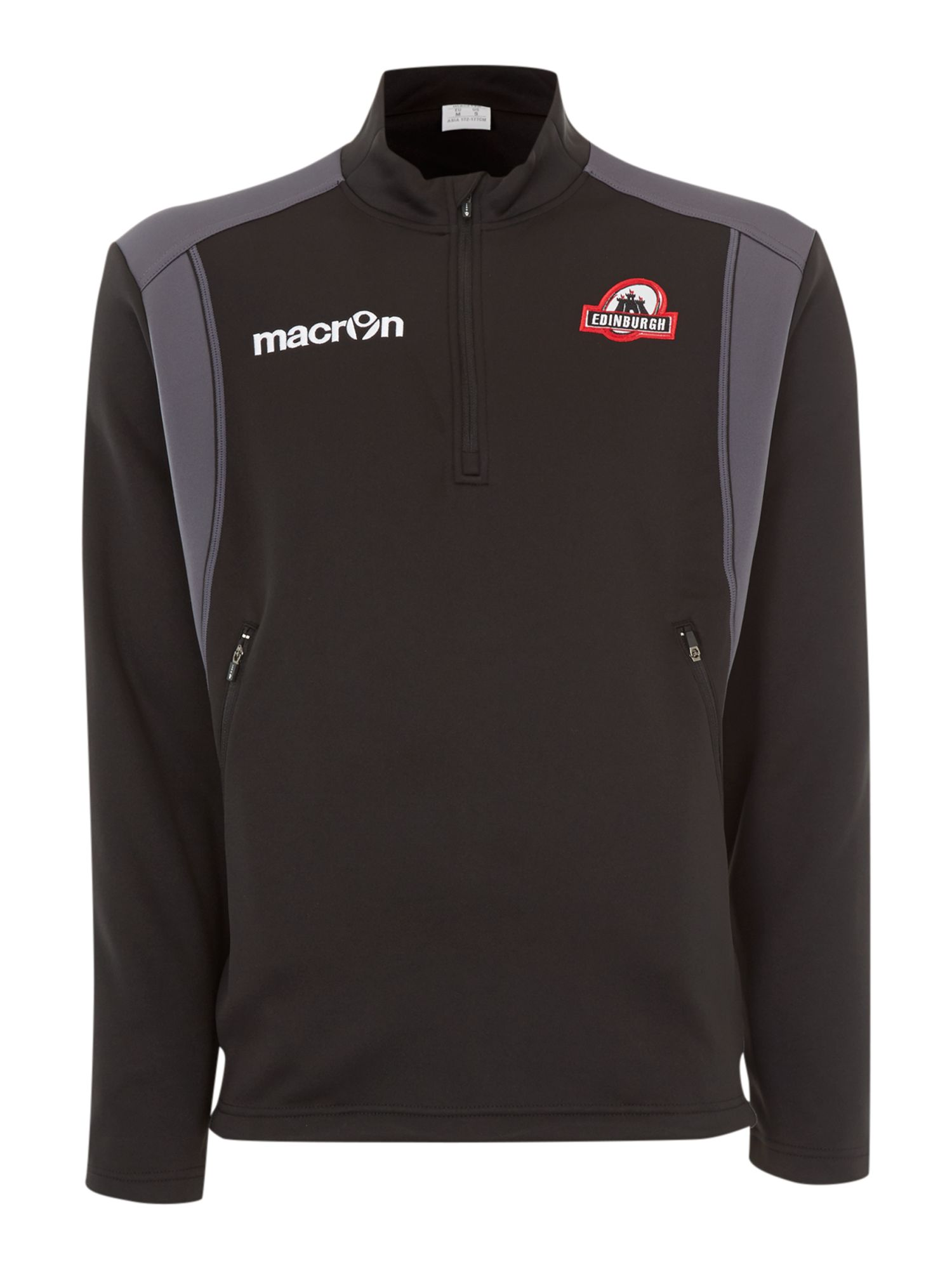 Edinburgh rugby travel microfleece