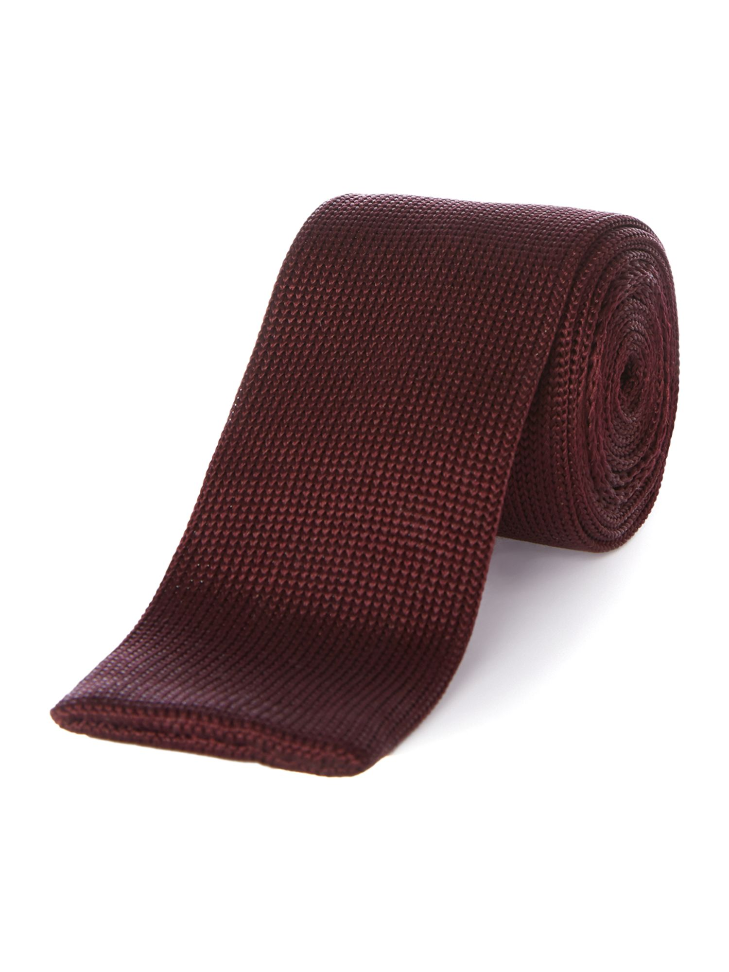 Vogan knitted silk tie