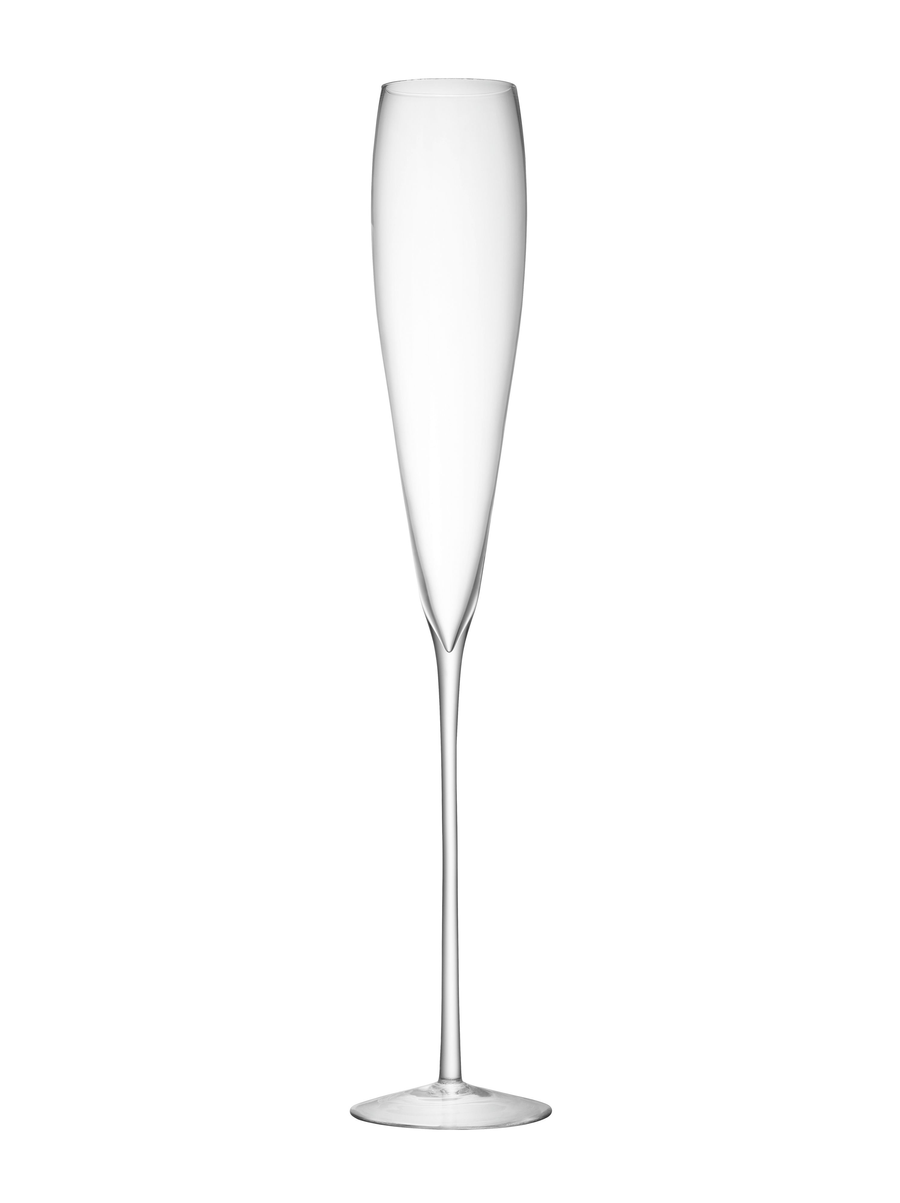 Maxa grand champagne flute 1.1m in clear