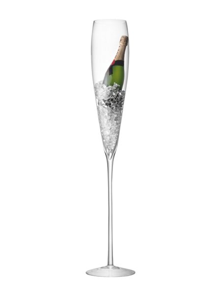 LSA Maxa grand champagne flute 1.1m in clear