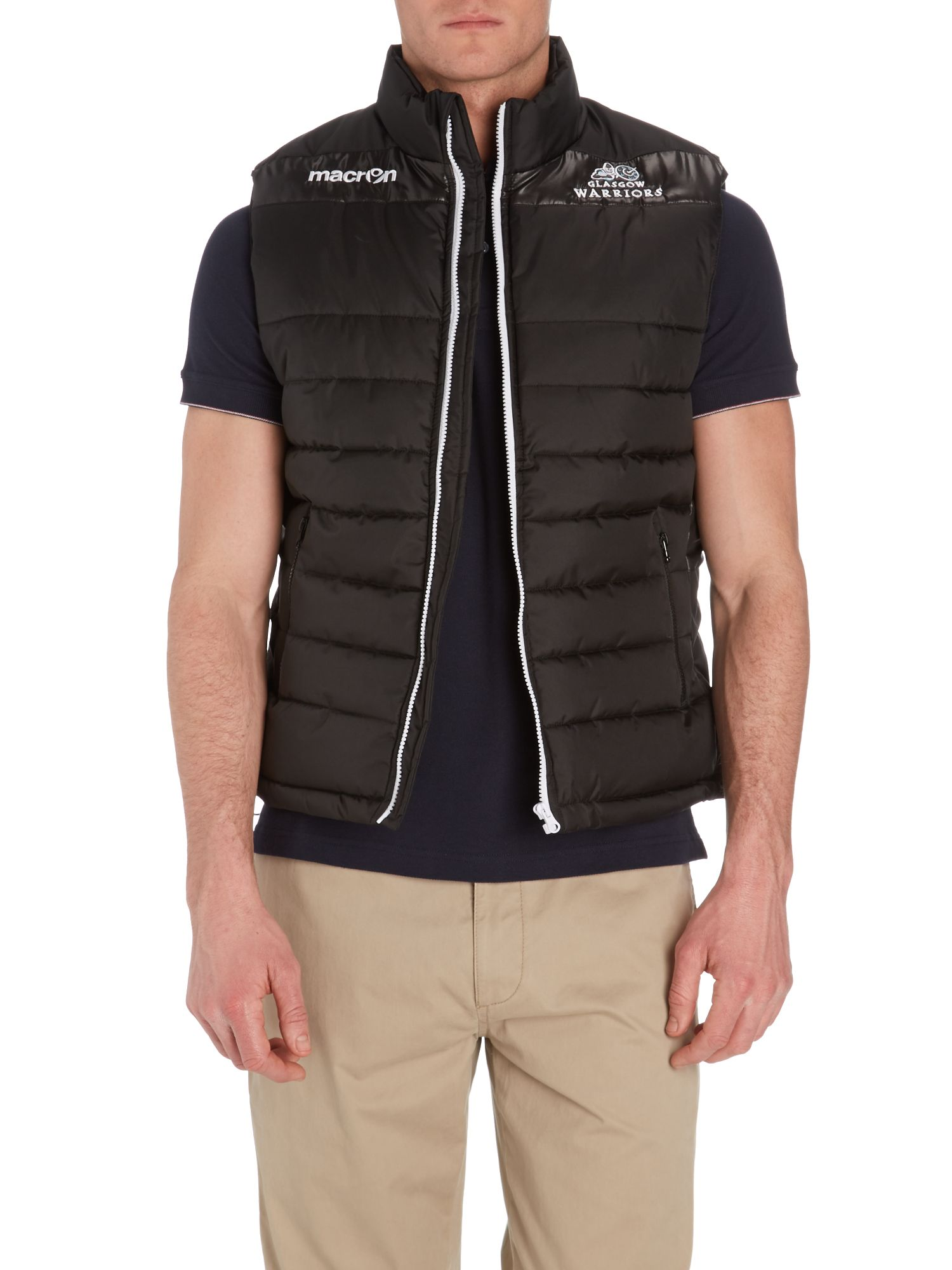 Glasgow warriors padded gilet