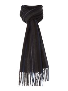 Soft touch multistripe scarf