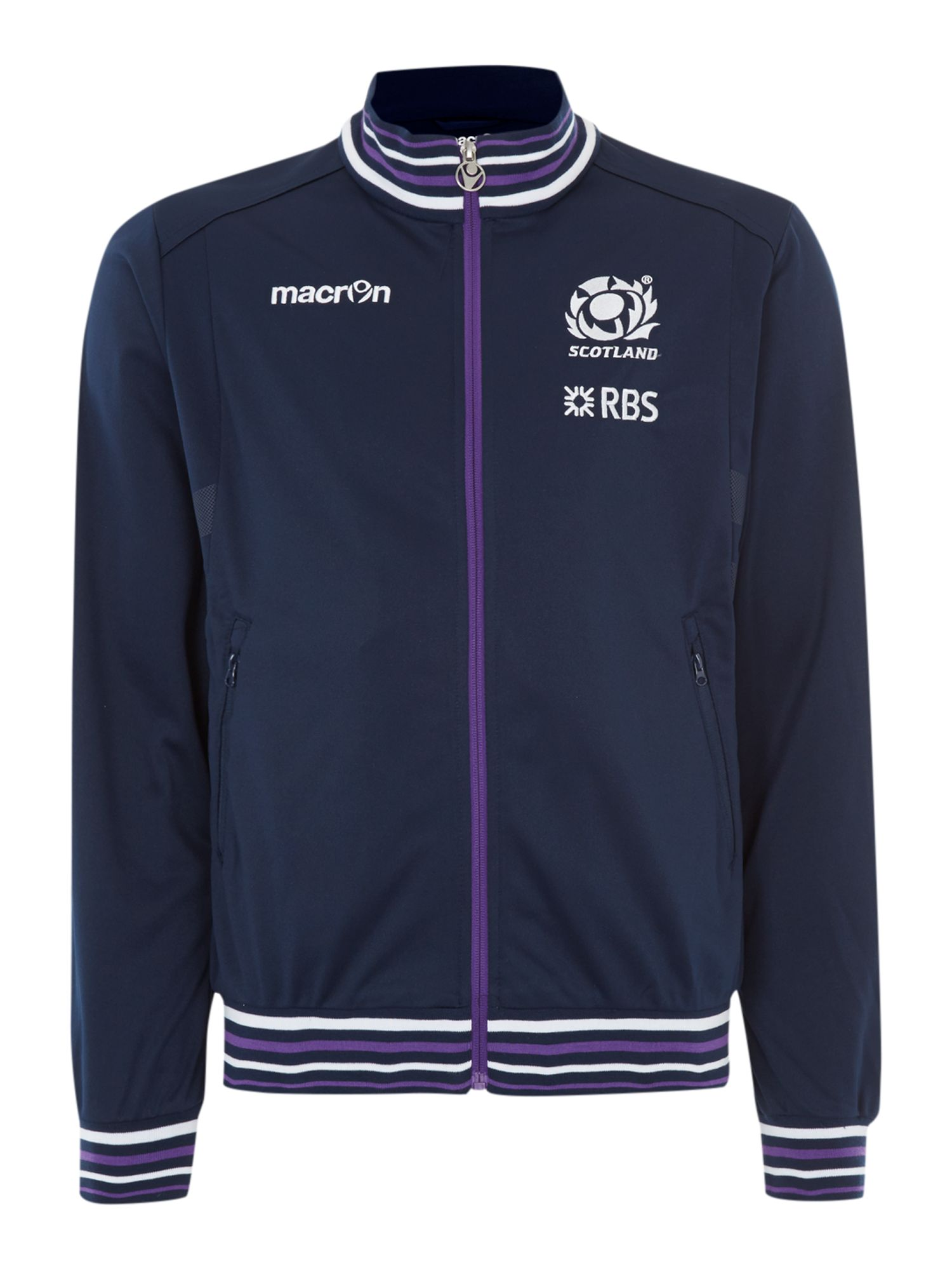 Scottish rugby full zip anthem jacket