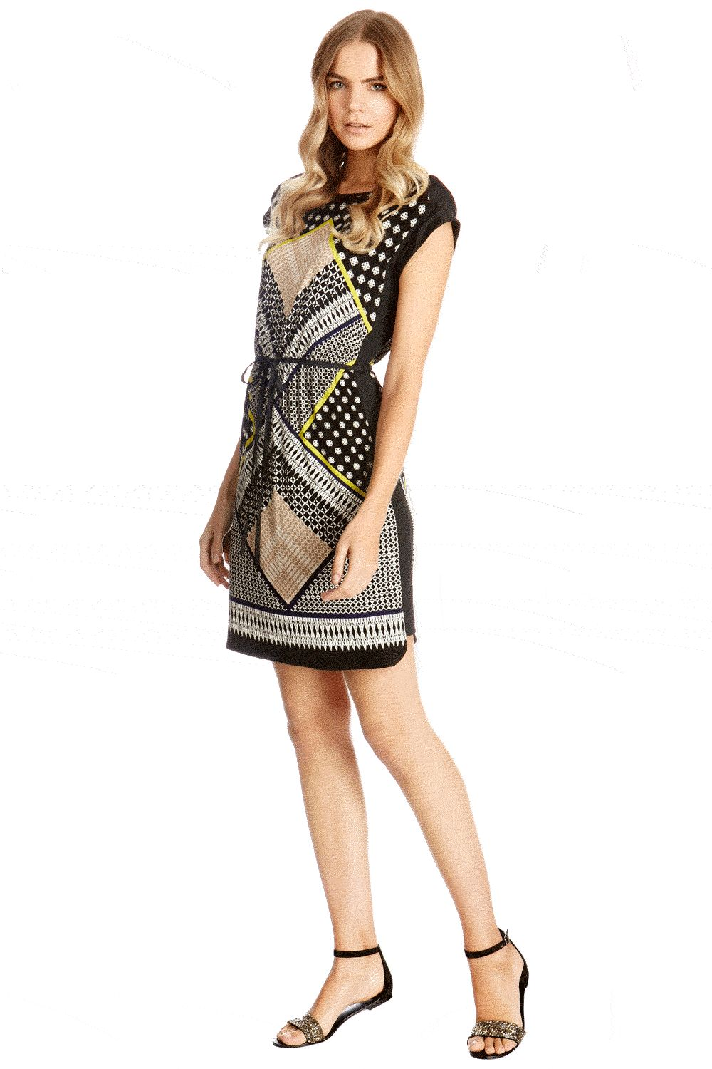 Mombassa print t-shirt dress