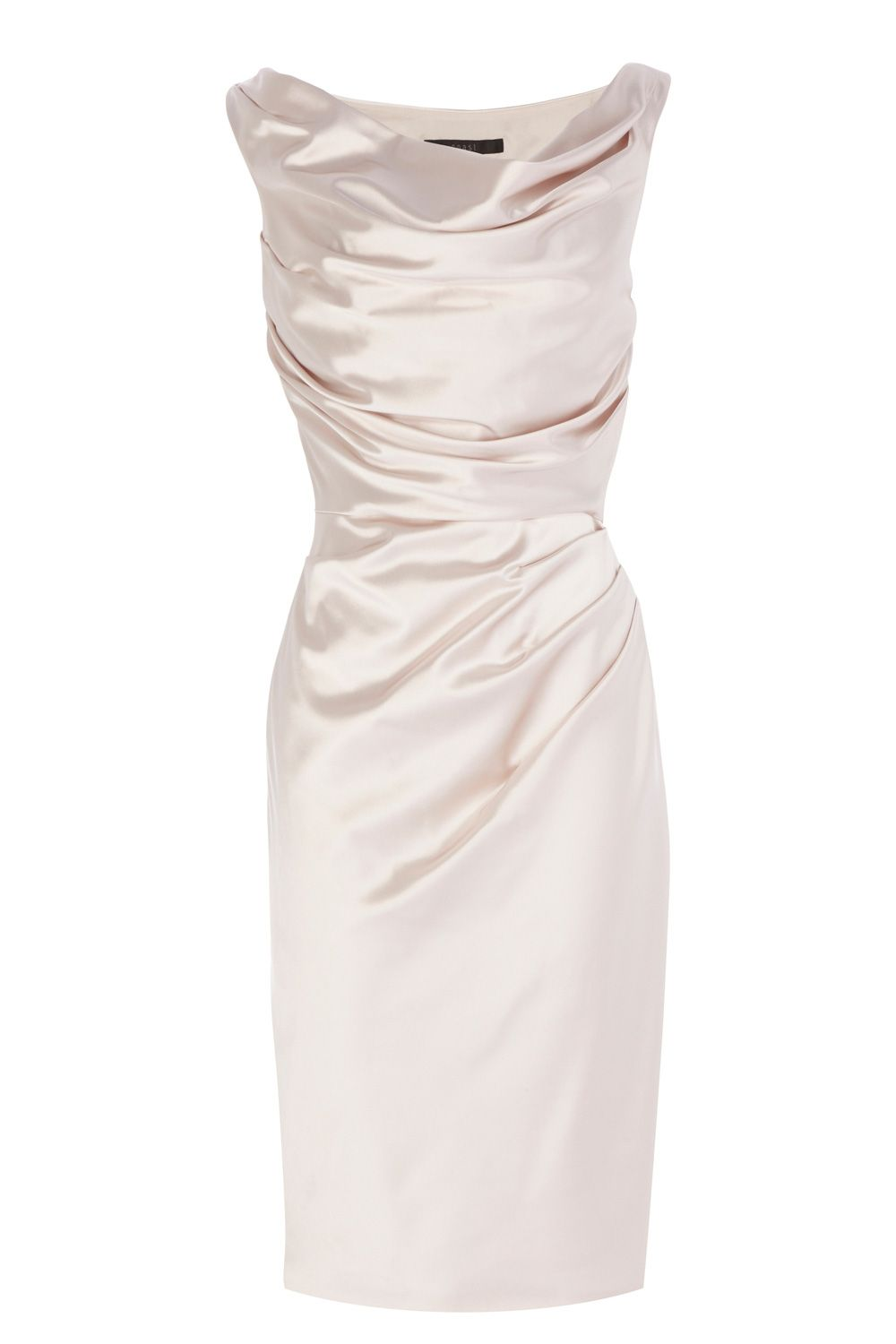 Manda Duchess Satin Dress