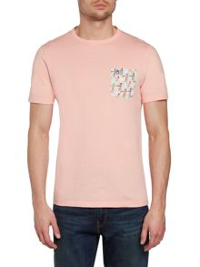Waterski pocket t-shirt