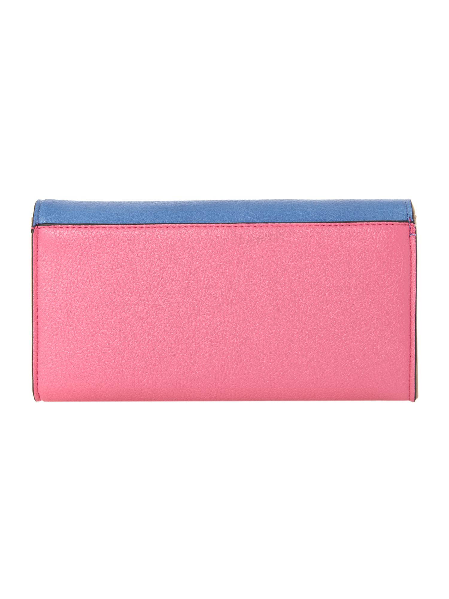 Adele blue large flapover purse