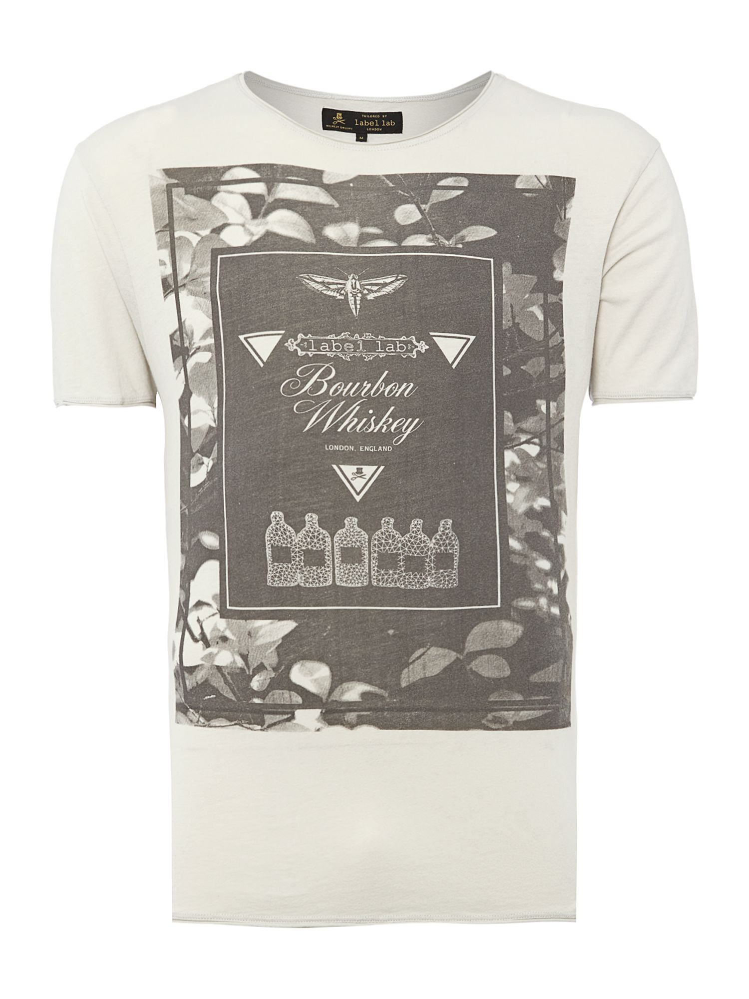 Bourbon graphic t-shirt