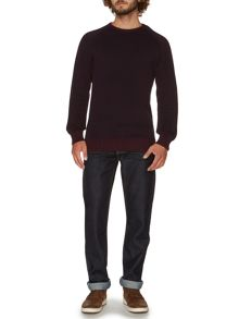Skelder Basket Weave Crew Neck Jumper