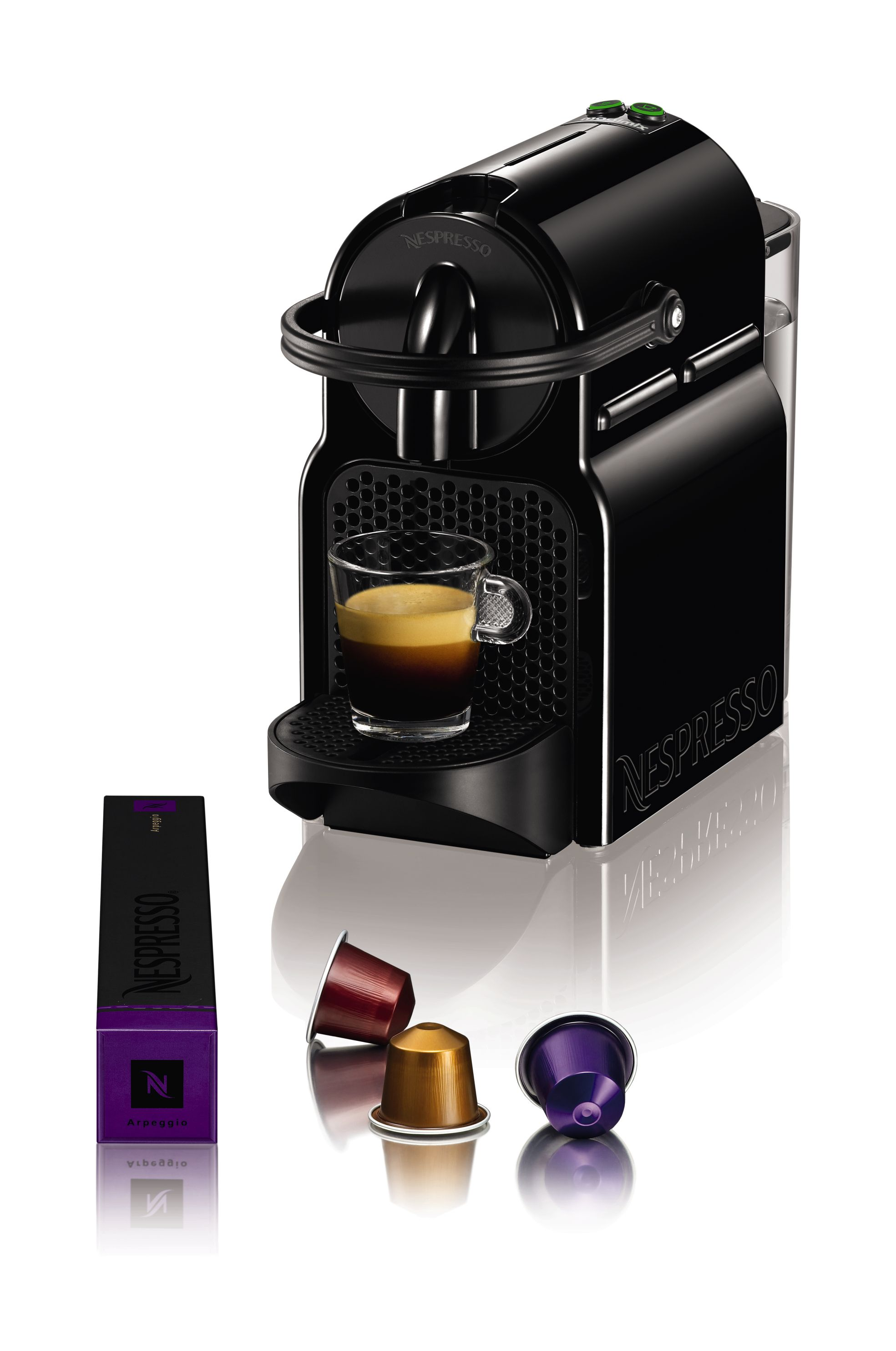 Nespresso Inissia Coffee Machine Black 11350