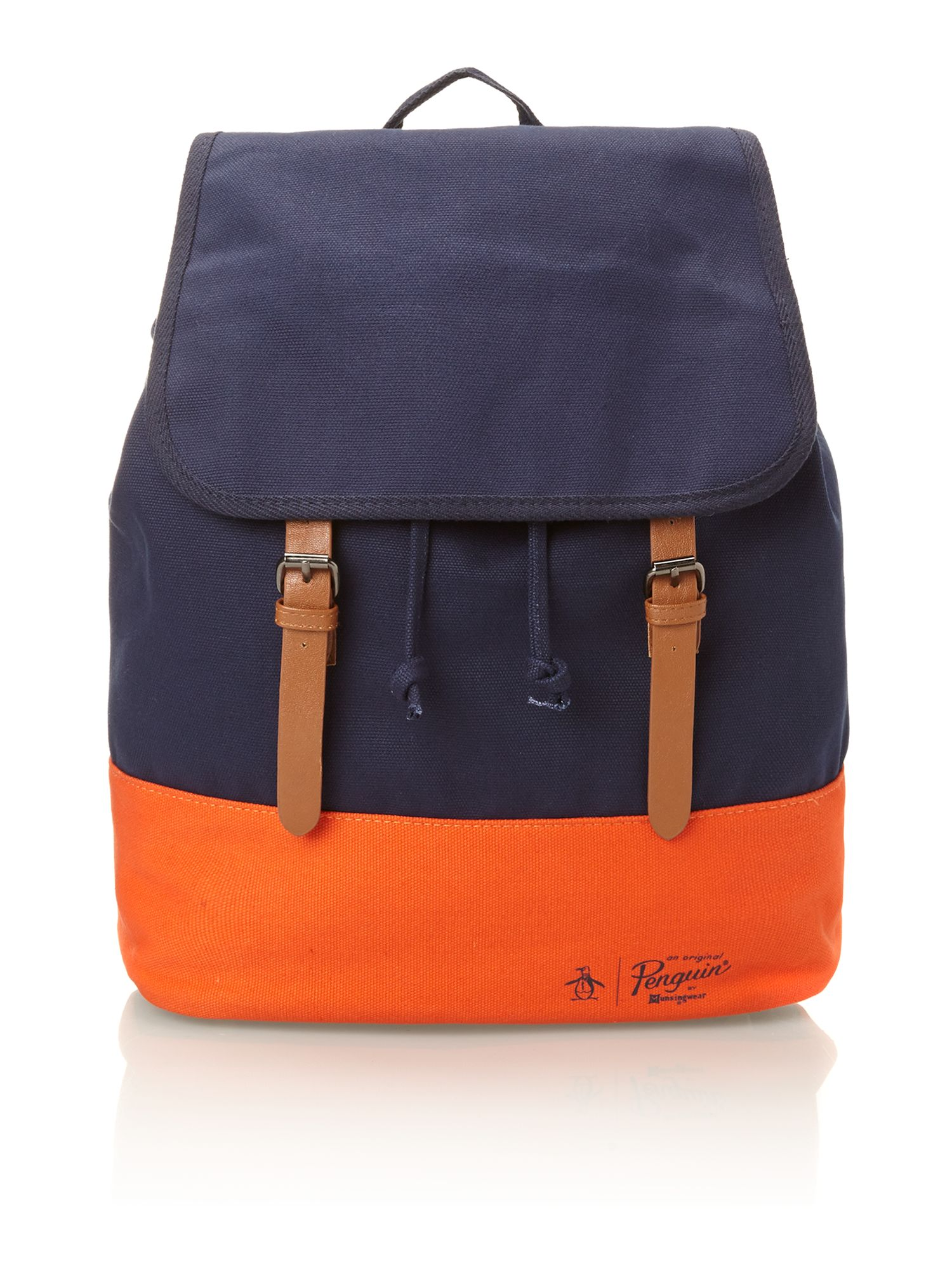 Contrast bottom back pack